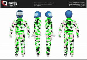 CIK FIA Level 2 Sublimation Suit # 03