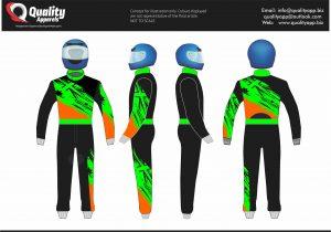 CIK FIA Level 2 Sublimation Suit # 01
