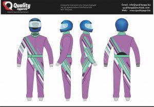CIK FIA Level 2 Sublimation Suit # 02